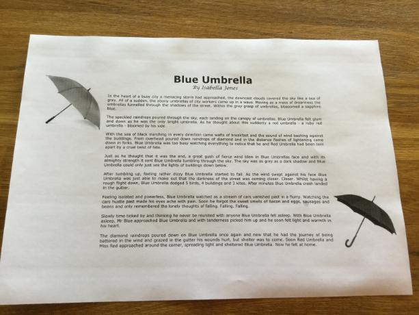 isabella umbrella